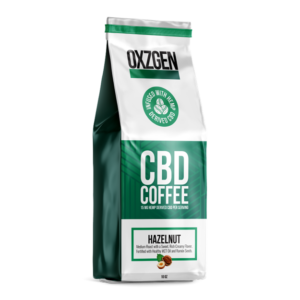 CBD Hazelnut Coffee