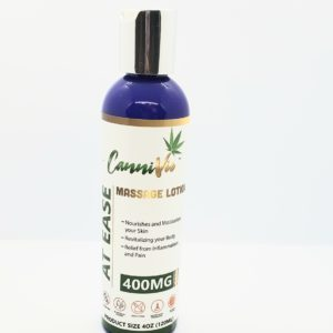 CanniVie At Ease Massage Lotion