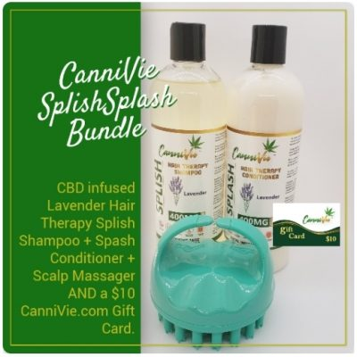 CanniVie Splish Splash Bundle – Lavender Hair Therapy